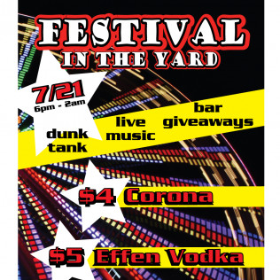 Festival In The Yard!